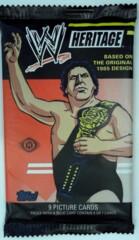 2012 TOPPS WWE WRESTLING HERITAGE TRADING CARDS HOBBY PACK