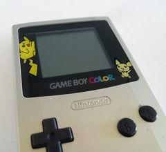Game Boy Color - Pokemon Edition Silver & Gold