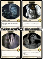 Angel Token Custom - Dr. Who Angel Token Set 2