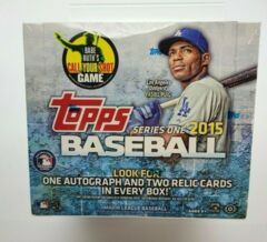 2015 Topps Baseball Series 1 - Jumbo Hobby Box
