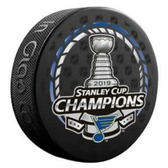 2019 NHL Stanley Cup Champs Puck