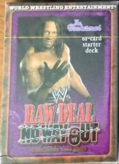 Raw Deal No Way Out Starter Deck The Bookerman (Booker T)