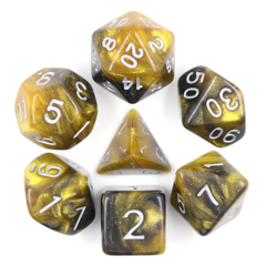 Monarch Dizzy HD Polyhedral 7 Dice Set