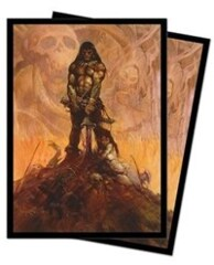 Barbarian Standard Deck Protector sleeves by Frank Frazetta (100-Pack) Ultra Pro Card Sleeves