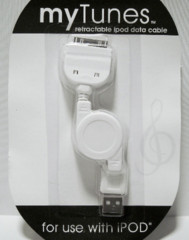 Retractable Data Cable for Ipod (New)