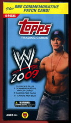 WWE 2009 TOPPS TRADING CARDS PATCH BLASTER BOX