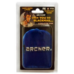 Archer - Once You Go Blackmail (A Love Letter Game) - Deluxe Velvet Bag Edition