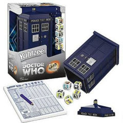 Doctor Who Yahtzee TARDIS Collector's Edition