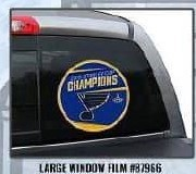 2019 Stanley Cup Champion - Large Window Film