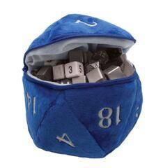 Ultra Pro Plush D20 Dice Bag Blue