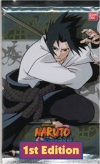 Naruto Shippuden Collectible Card Game Fangs of the Snake Booster Pack 1st Edition