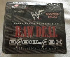 Raw Deal Backlash Booster Box