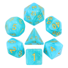 Atlantis Dizzy HD Polyhedral 7 Dice Set