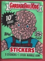 Garbage Pale Kids Topps: 10th Series Trading Card Sticker Pack (1987)