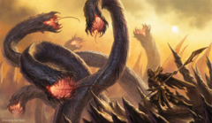 Artists of Magic Play Mat 19 AGAINST THE ODDS w/artwork by Dan Scott