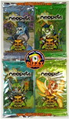 Neopets Mystery Island Booster Pack Art Set