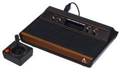 Atari 2600 VCS - CX2600A - four-switch