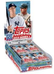 2019 Topps Series 1 Baseball Hobby Box (+1 Silver Pack)