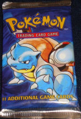 Base Set Unlimited Booster Pack (Blastoise Art)