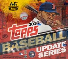 2016 Topps Update Baseball Jumbo Box