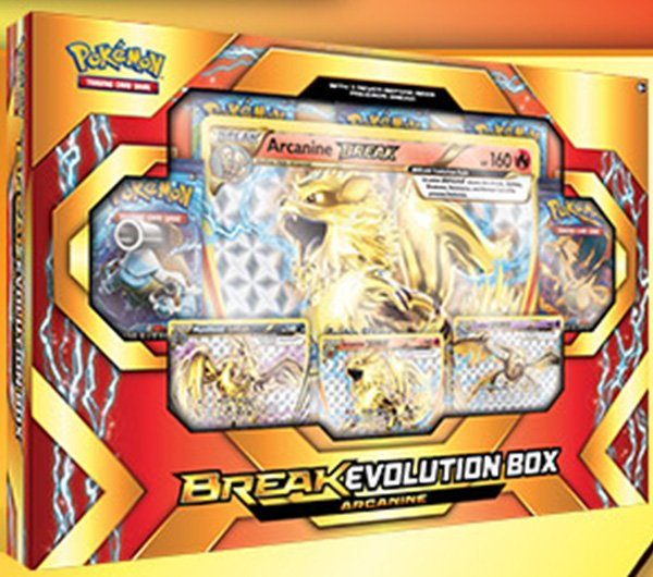 BREAK EVOLUTION BOX - ARCANINE