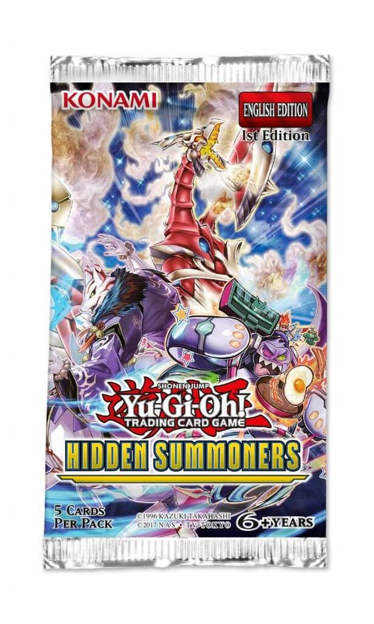 Hidden Summoners 1st Edition Booster Pack
