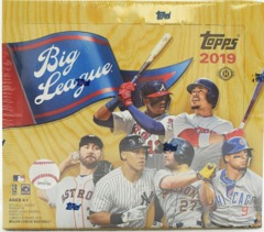 2019 Topps Big League Baseball Hobby Box
