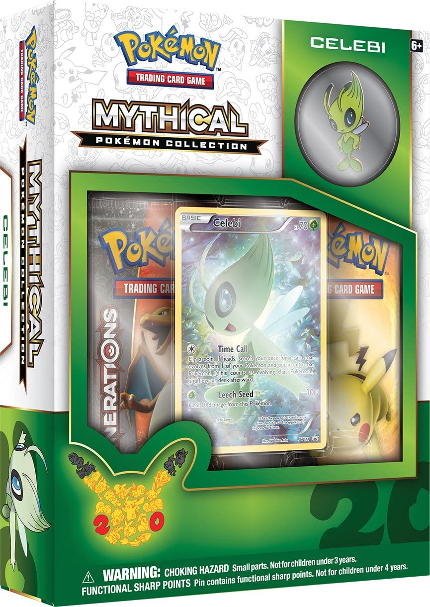 Mythical Pokemon Collection: Celebi