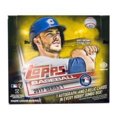 2017 Topps Series 1 Baseball Jumbo Box