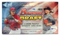 2018 Bowman Draft Baseball Jumbo Box
