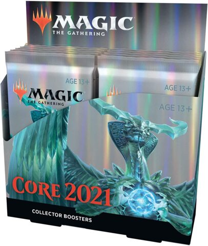 Core Set 2021 Collector Booster Display