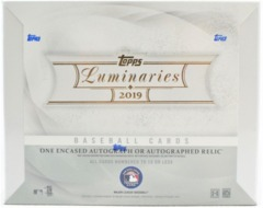 2019 Topps Luminaries Baseball Hobby Box
