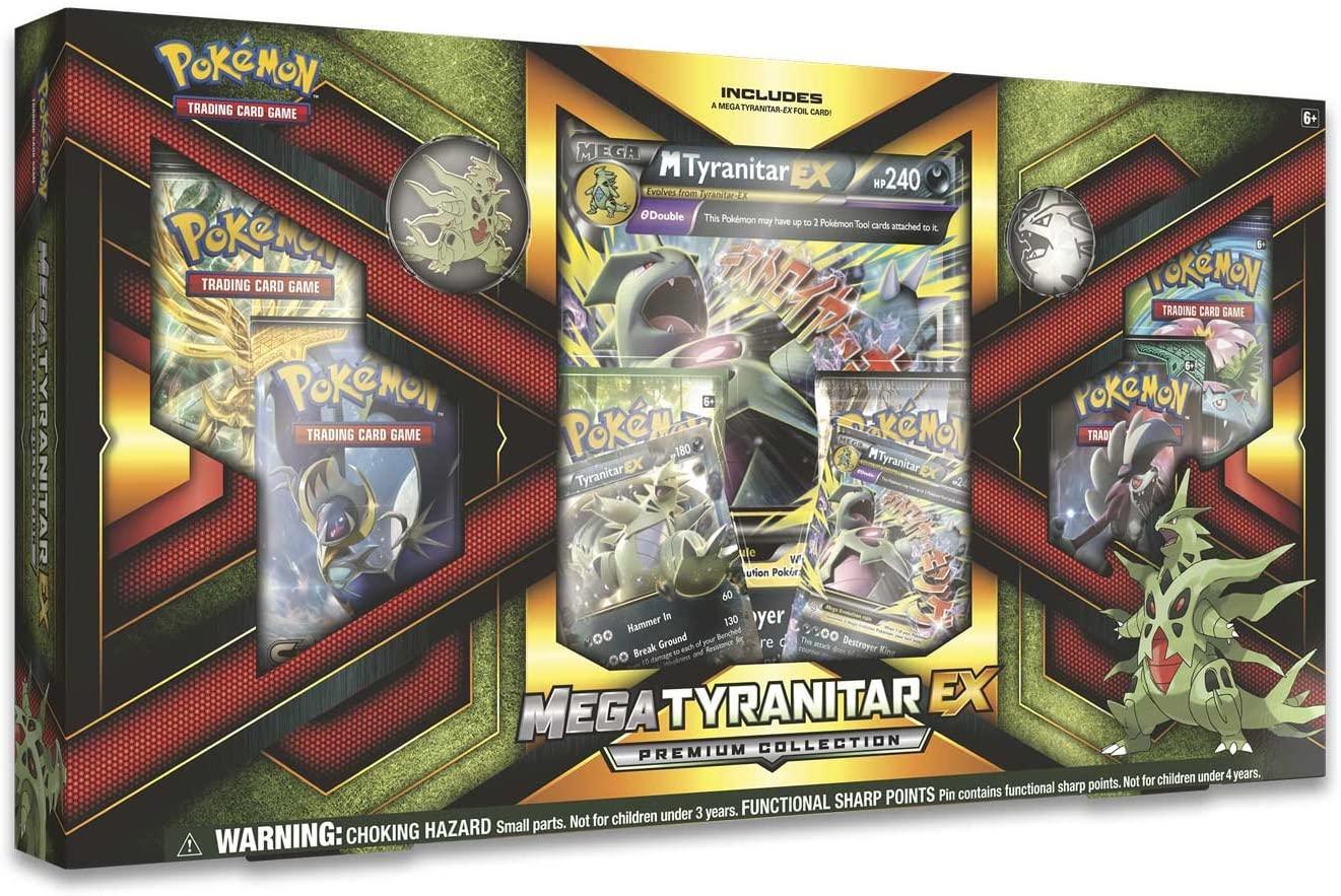 Mega Tyranitar-Ex Premium Collection Box