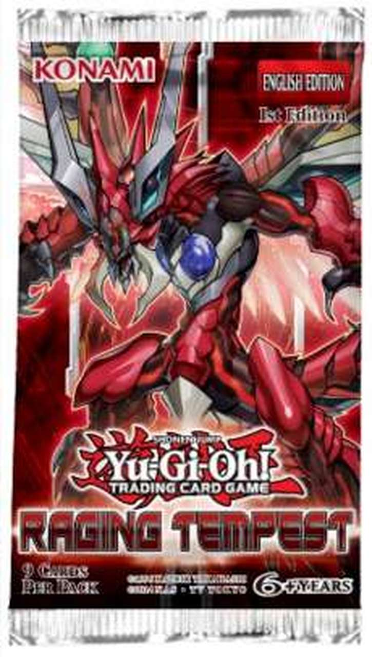 Raging Tempest 1st Edition Booster Pack