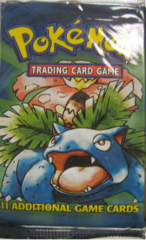 Base Set Unlimited Booster Pack (Venusaur Art)
