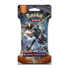 Sun & Moon - Burning Shadows Sleeved Booster