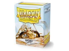 Dragon Shield Sleeves: Japanese Matte Ivory (Box Of 60)