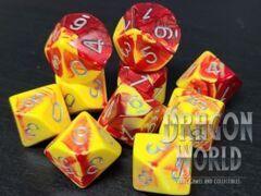 Gemini Red-Yellow w/Silver - 10D10 - CHX26250