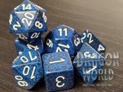 Speckled Stealth - 7 Piece Dice Set - CHX25346