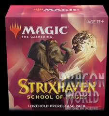 Strixhaven - At-Home Prerelease Pack - Lorehold with 2 Bonus Packs