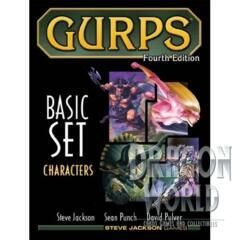 Gurps Fourth Edition - Basic set - Characters