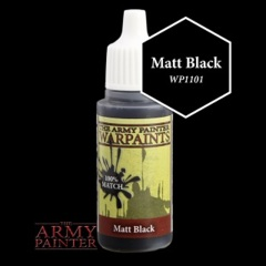 Matte Black - Army Painter - 18ML