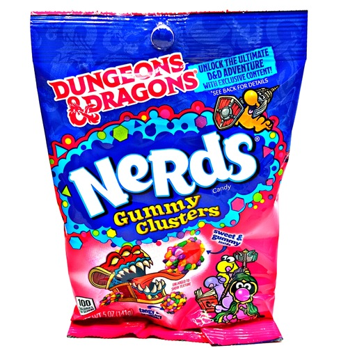 Candy - Wonka Nerds D&D Gummy Clusters