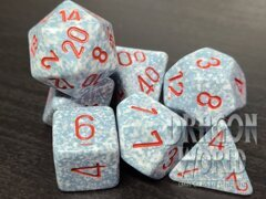 Speckled Air - 7 Piece Dice Set - CHX25300