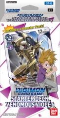 Digimon Card Game: Starter Deck: Venomous Violet