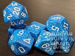 Speckled Water - 7 Piece Dice Set - CHX25306