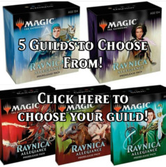 Ravnica Allegiance Saturday PM Sealed Registration