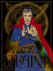 Doctor Strange Movie Print