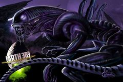E383 Alien Playmat