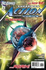 ACTION COMICS #5 NEW 52